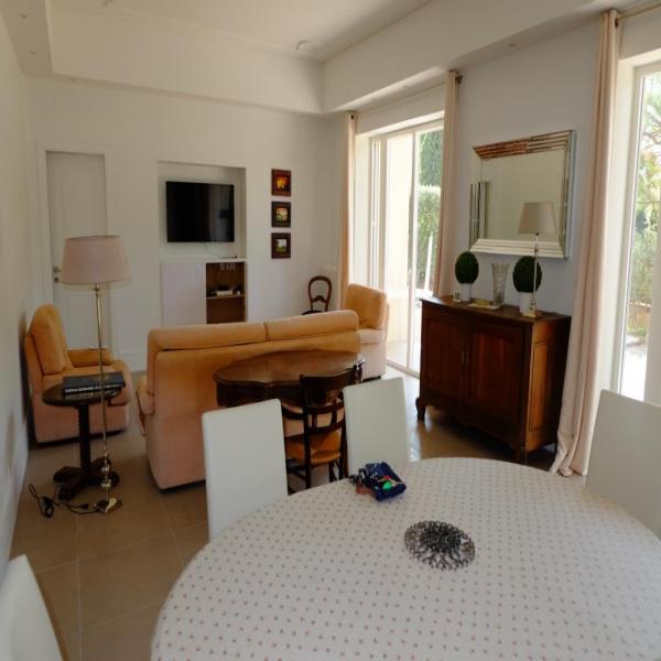Location de vacances Rez de jardin Cannes 06400